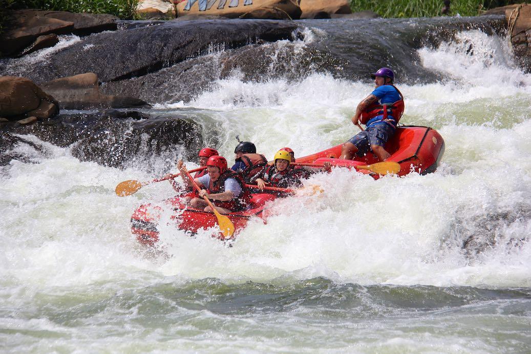 Einfach nur Geil! Nile River Explorers Rafting