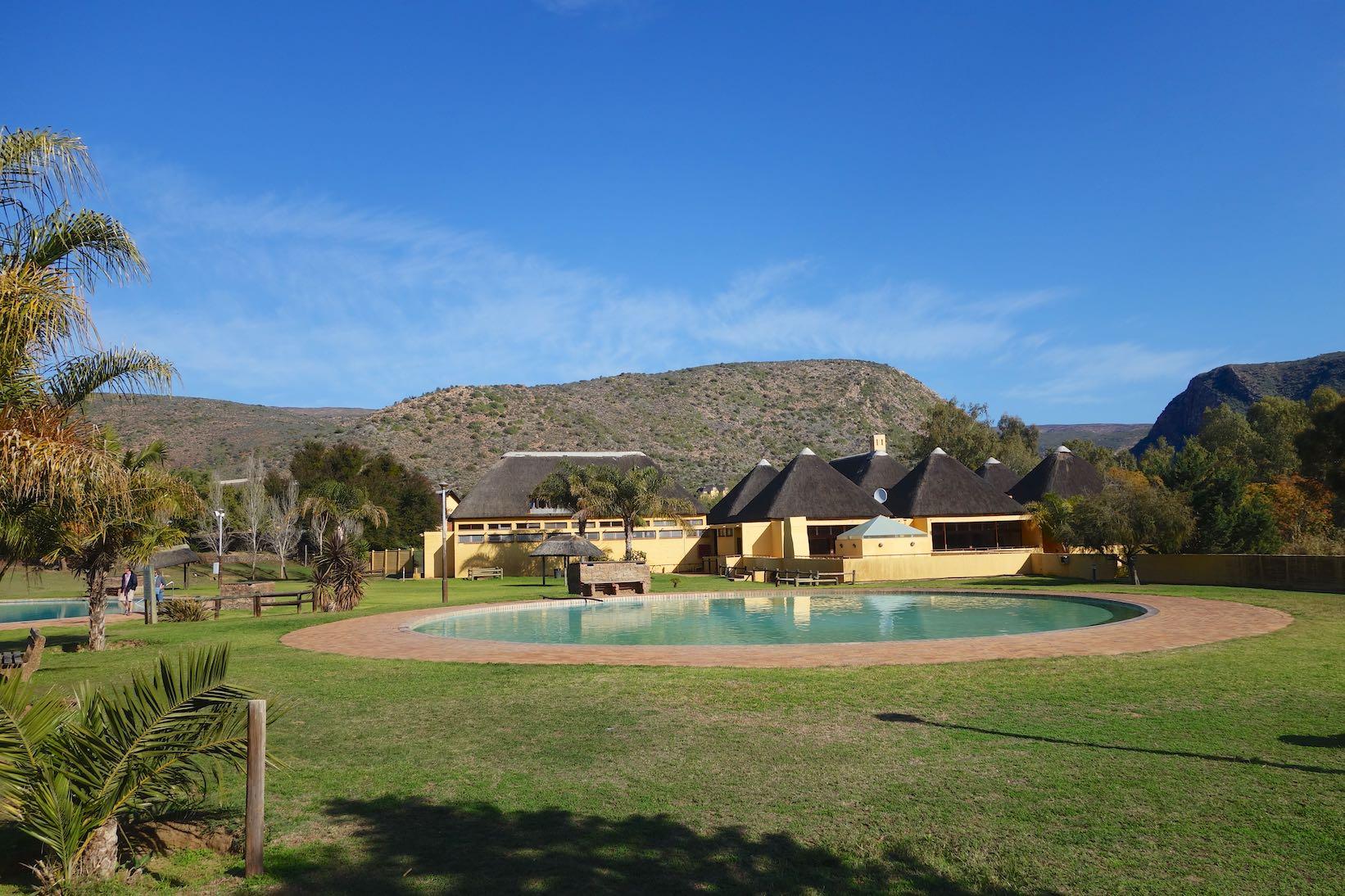 Calitzdorp Spa in der Nähe von Oudthoorn