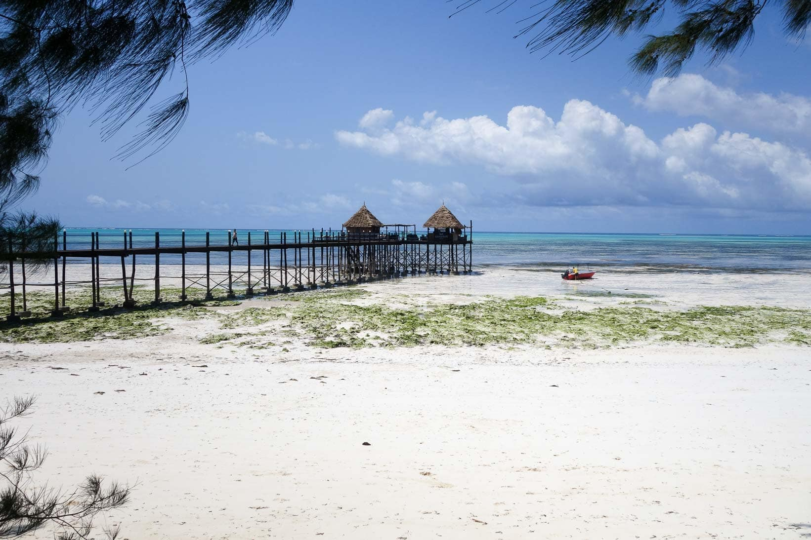 Die Jetty Bar des Spice Island Hotel & Resort