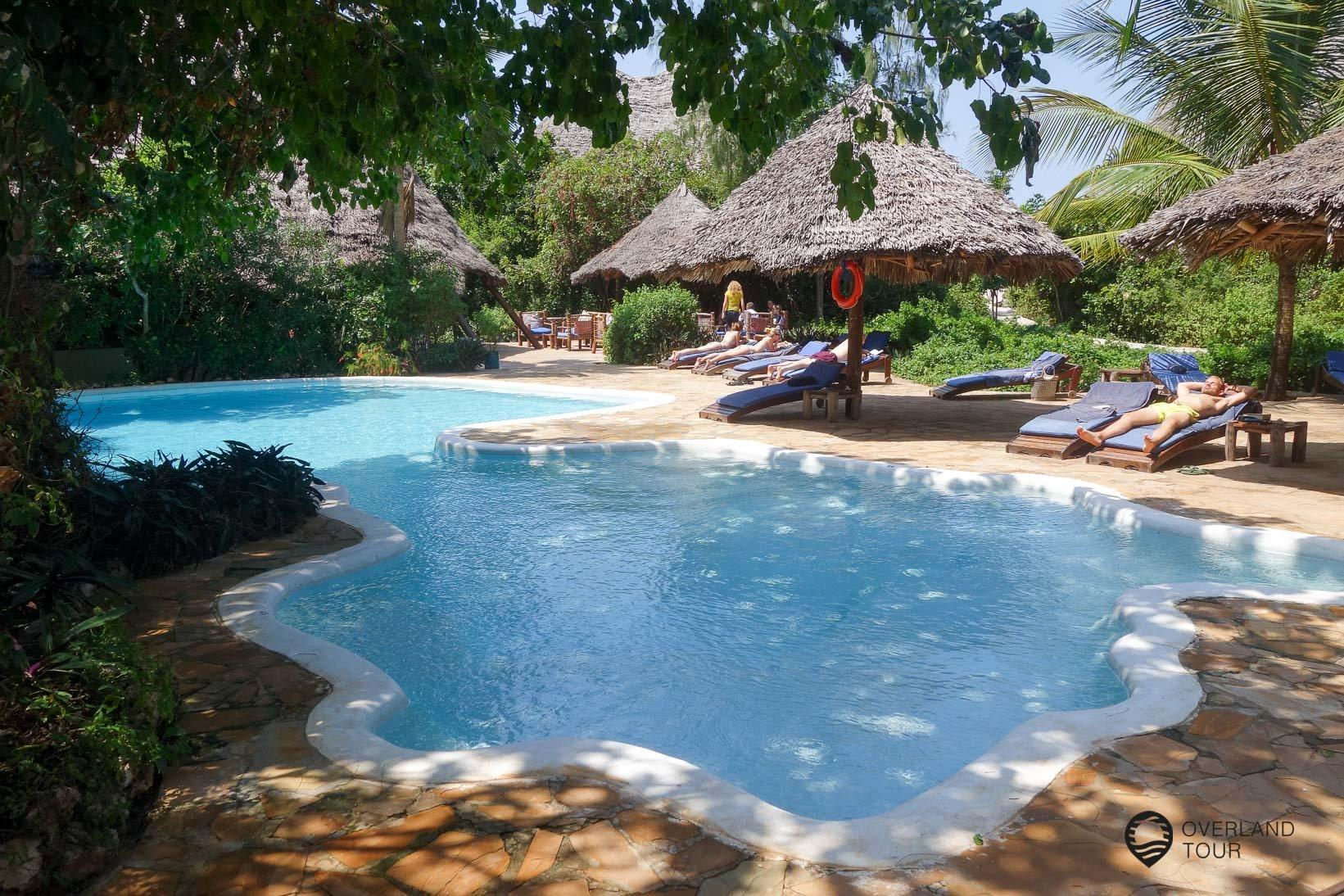 Ruhige und wundervolle Resorts findest du auf Sansibar – Hier die Unguja Lodge