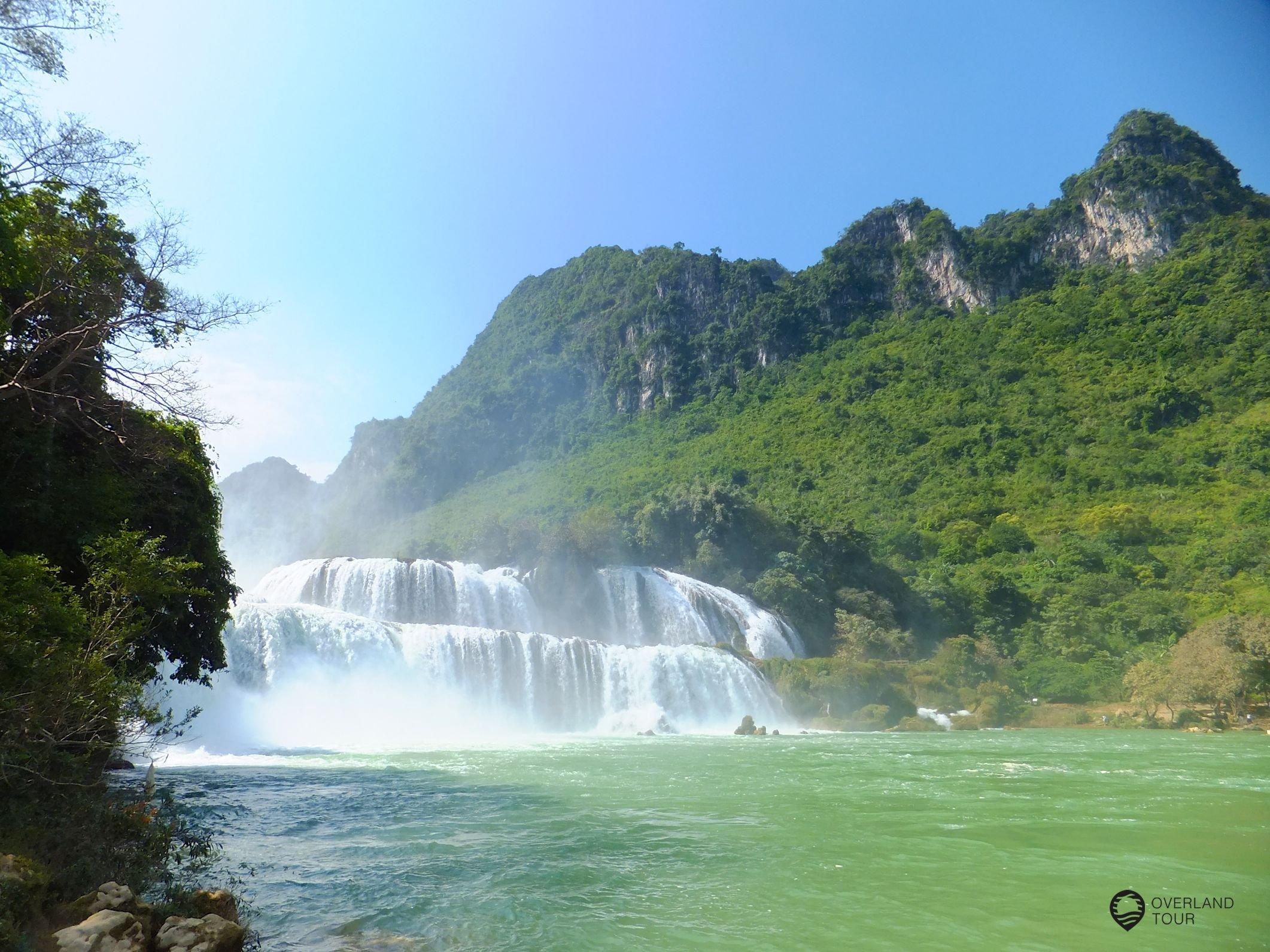 Ban Gioc Wasserfälle