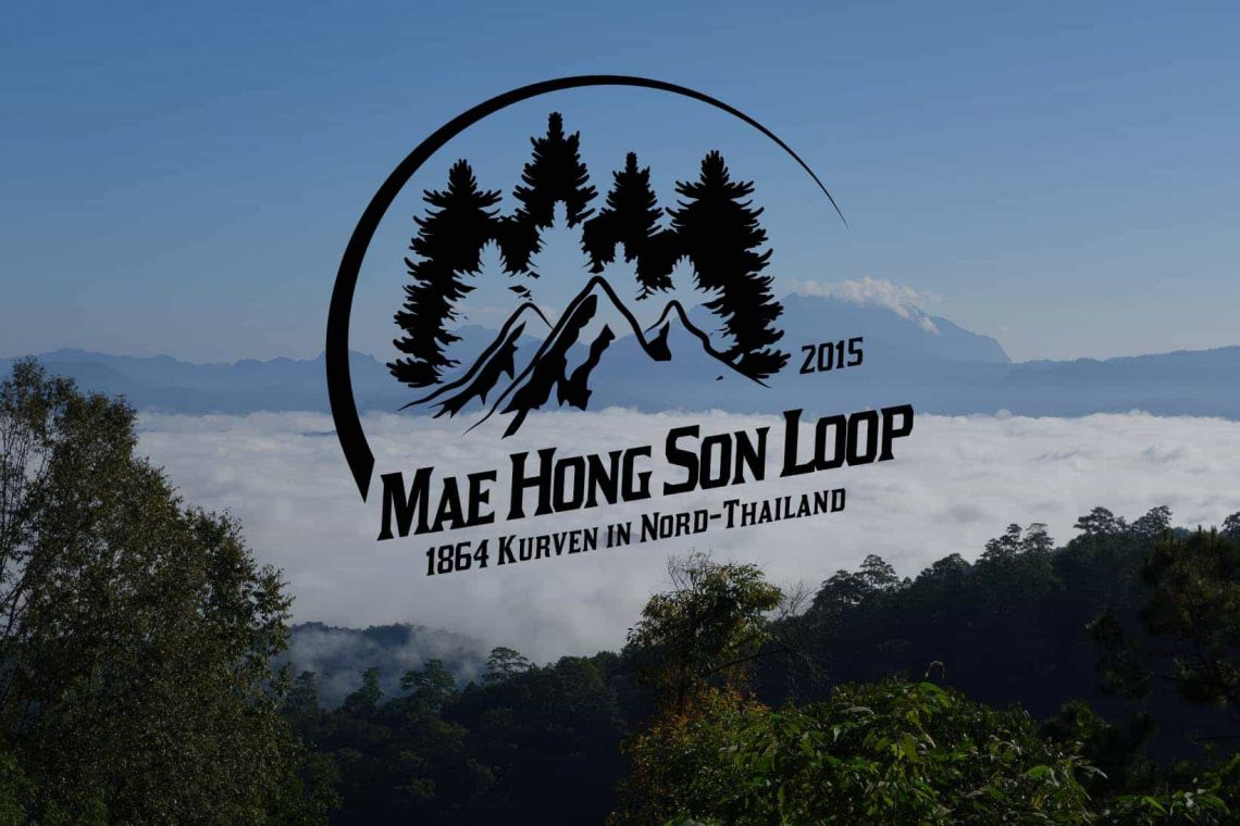 Mit dem Motorrad übder den Mae Hong Son Loop