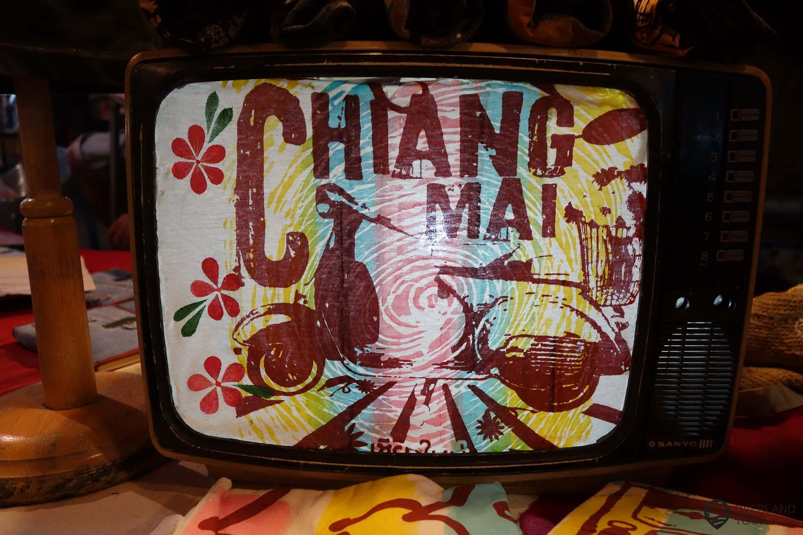 Sonntags wird Chiang Mai zu einem großen Markt in Old-Town - Walking Street