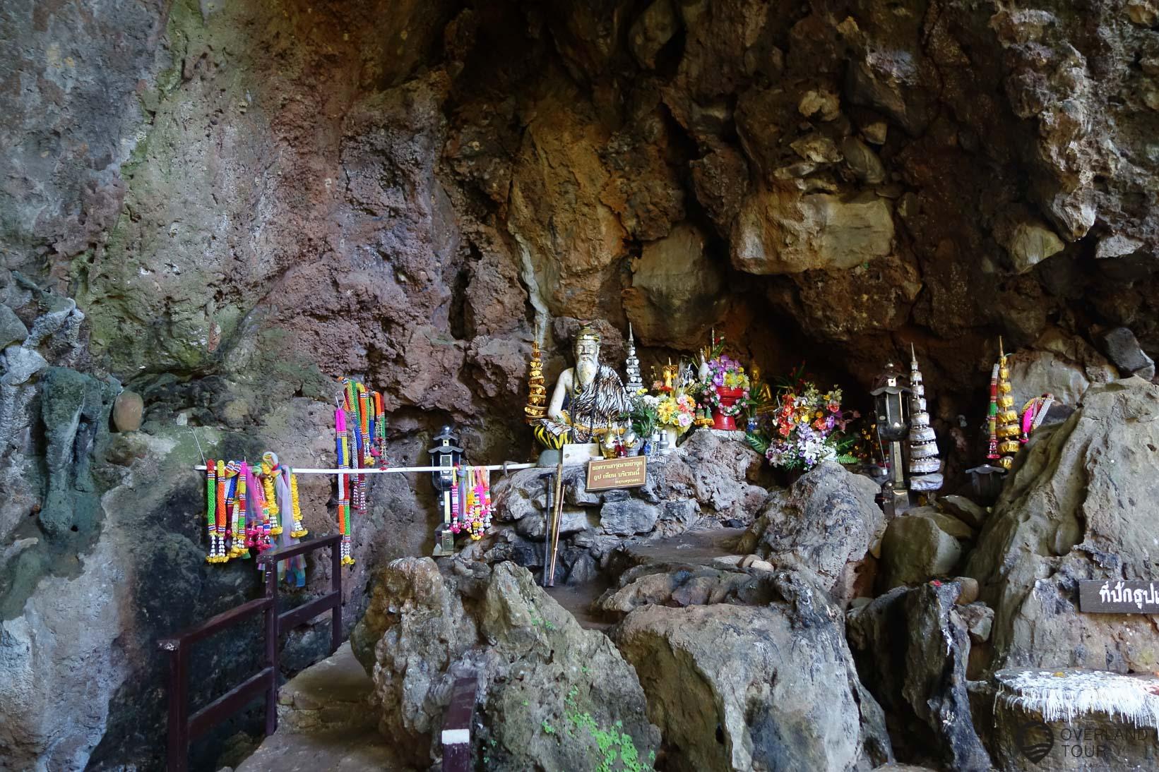 Etappe 3 - Mae Hong Son nach Pai auf der Straße 1095 - Bilder der Fish Cave