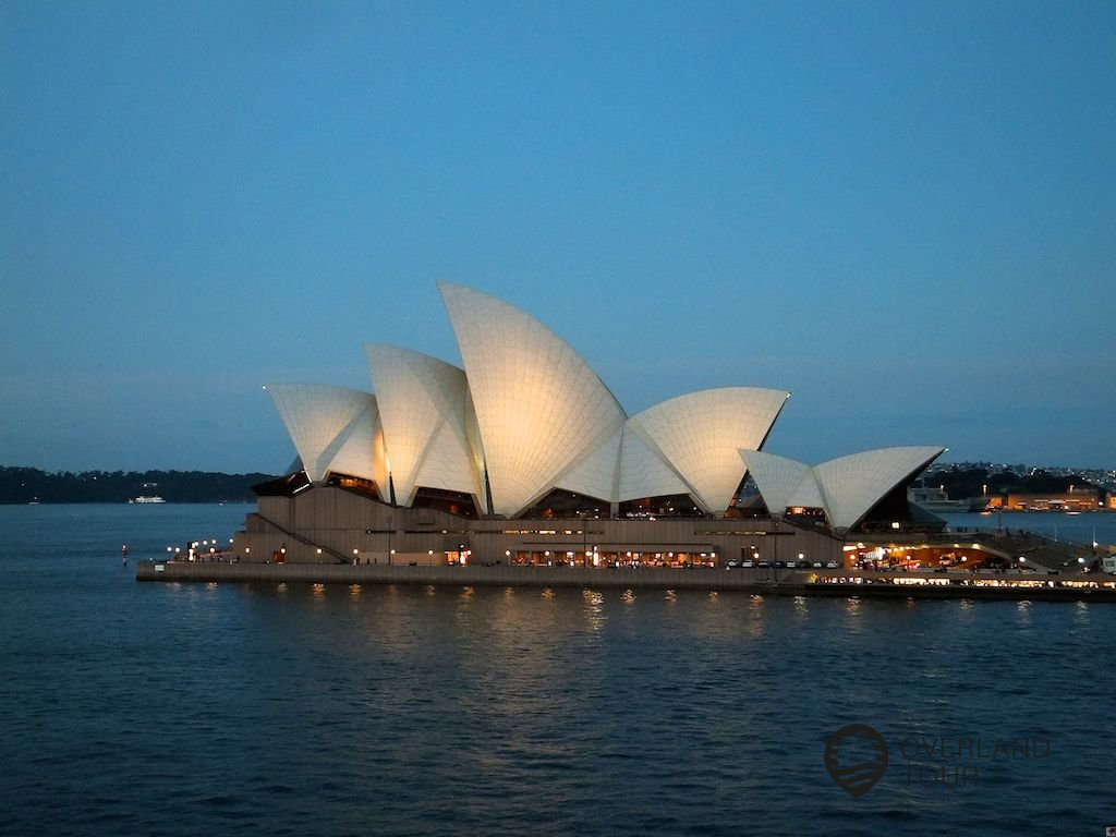 Das Wahrzeichen Australiens – Die Oper von Sydney