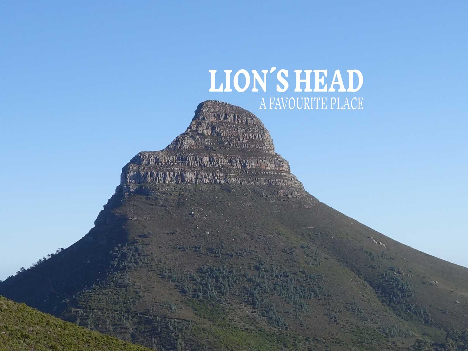 Lion´s Head – A favourite place in Cape Town