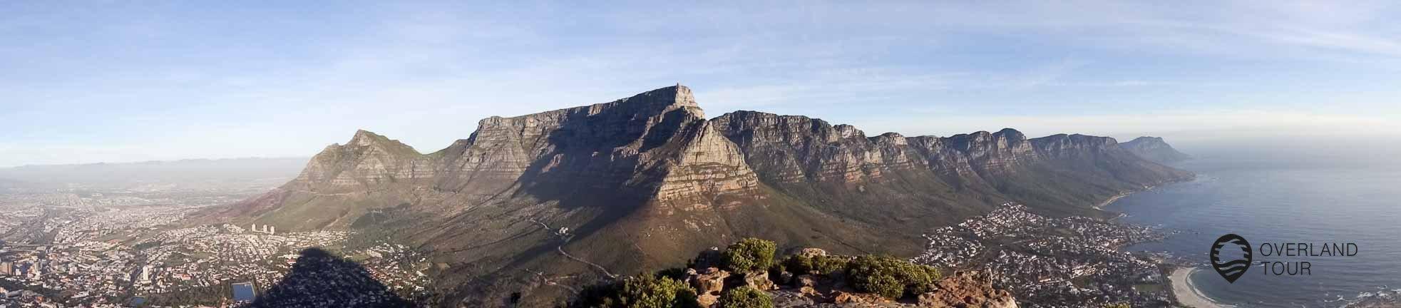 Was für eine Aussicht vom Lion´s Head auf den Tafelberg