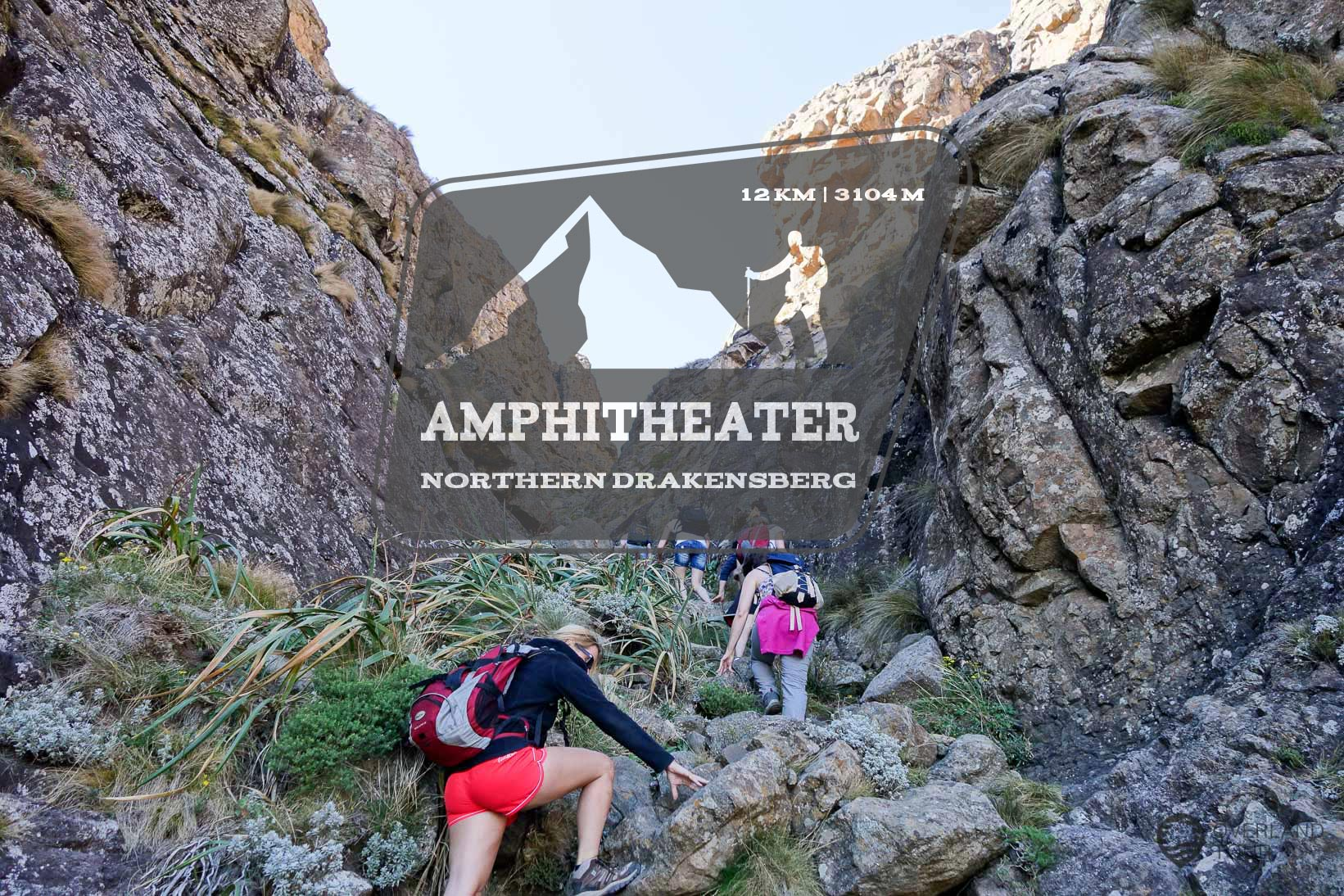 Top of the Amphitheater – Auf´s Dach der Drakensberge