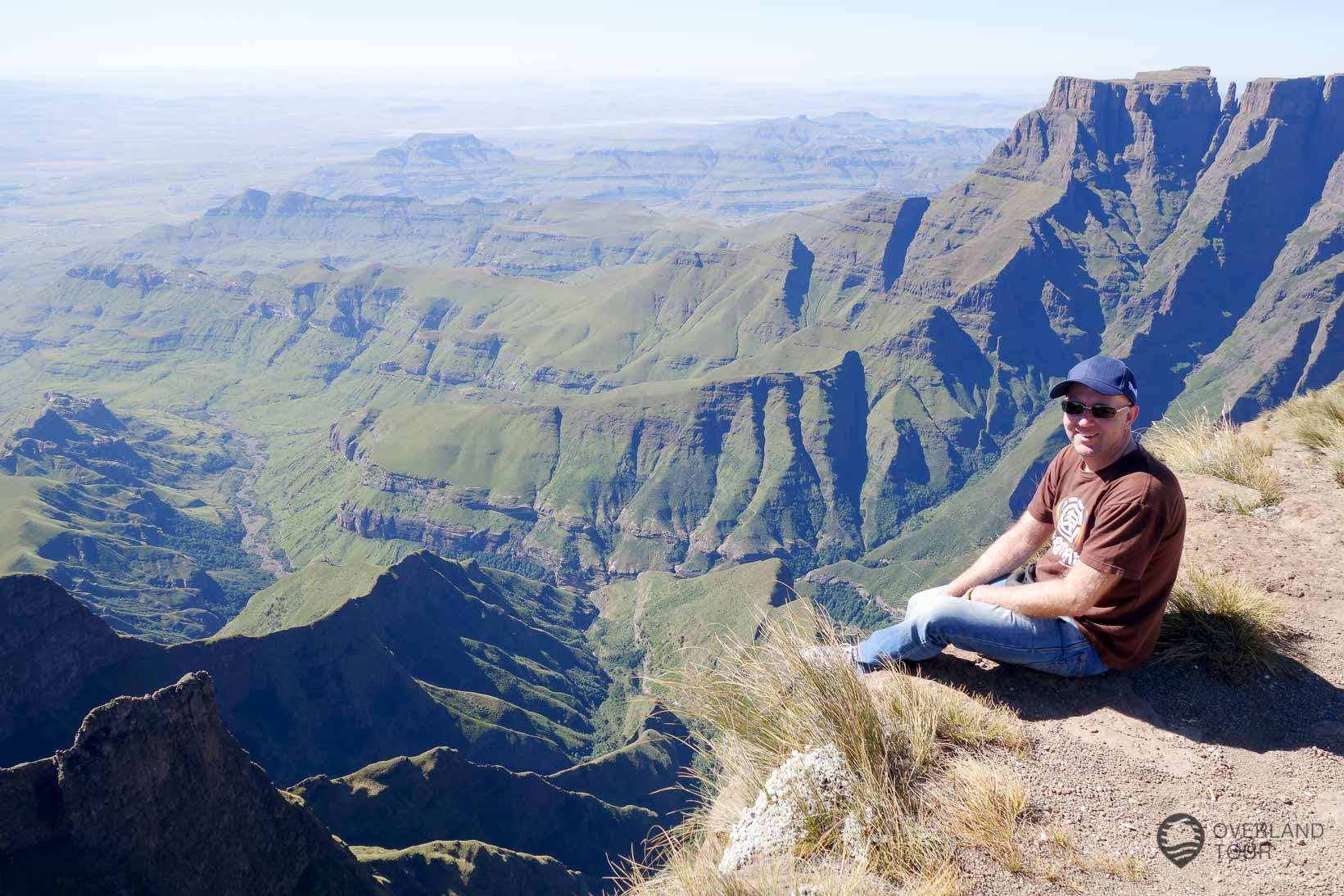 Was für ein Ausblick! Eine der besten Wanderungen in Südafrika.