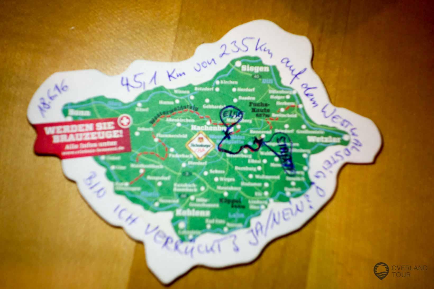 45 Kilometer – Ja bin ich den verrückt?