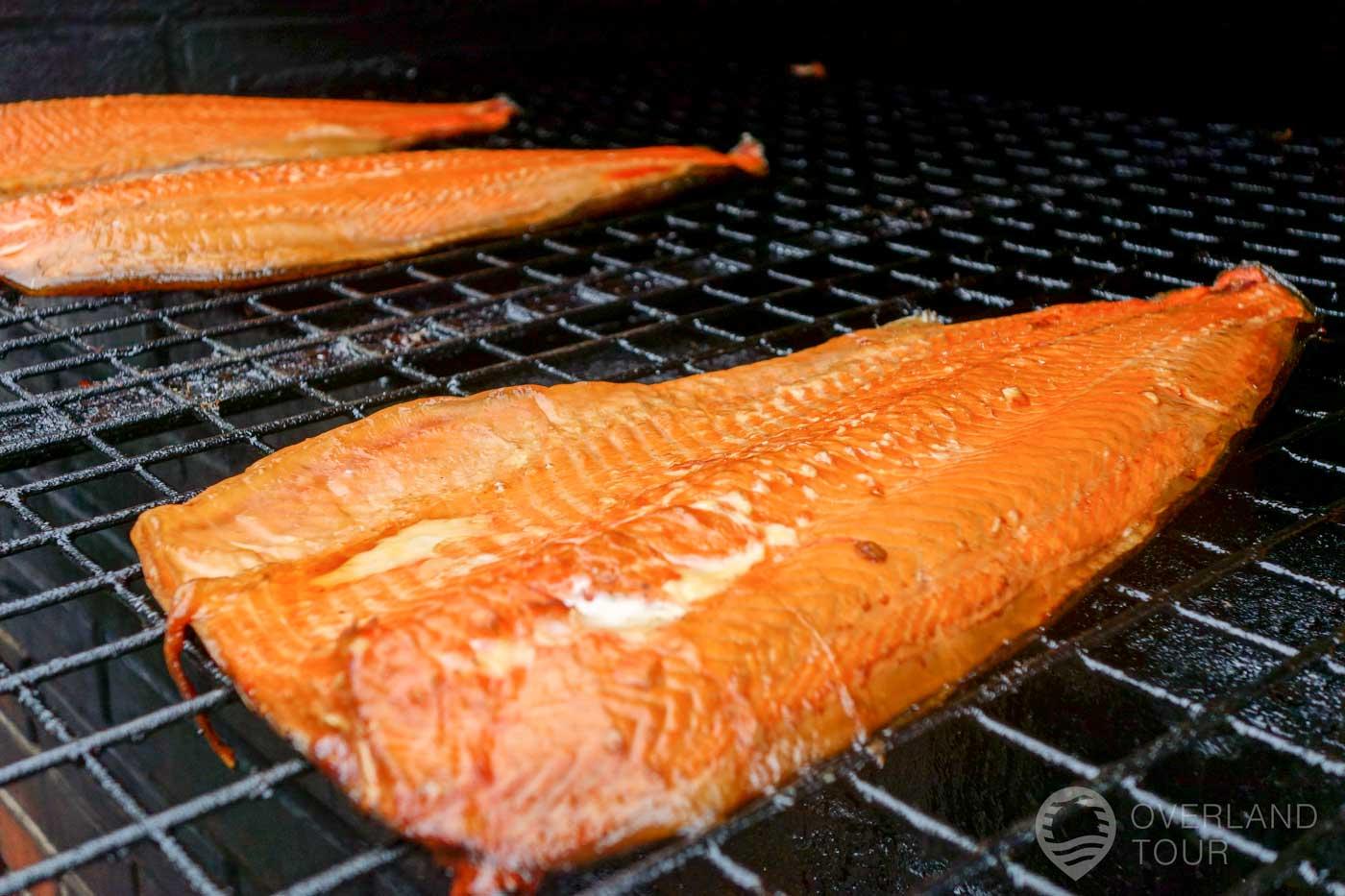 Fisk Börje – Geräucherter Lachs eine Delikatesse