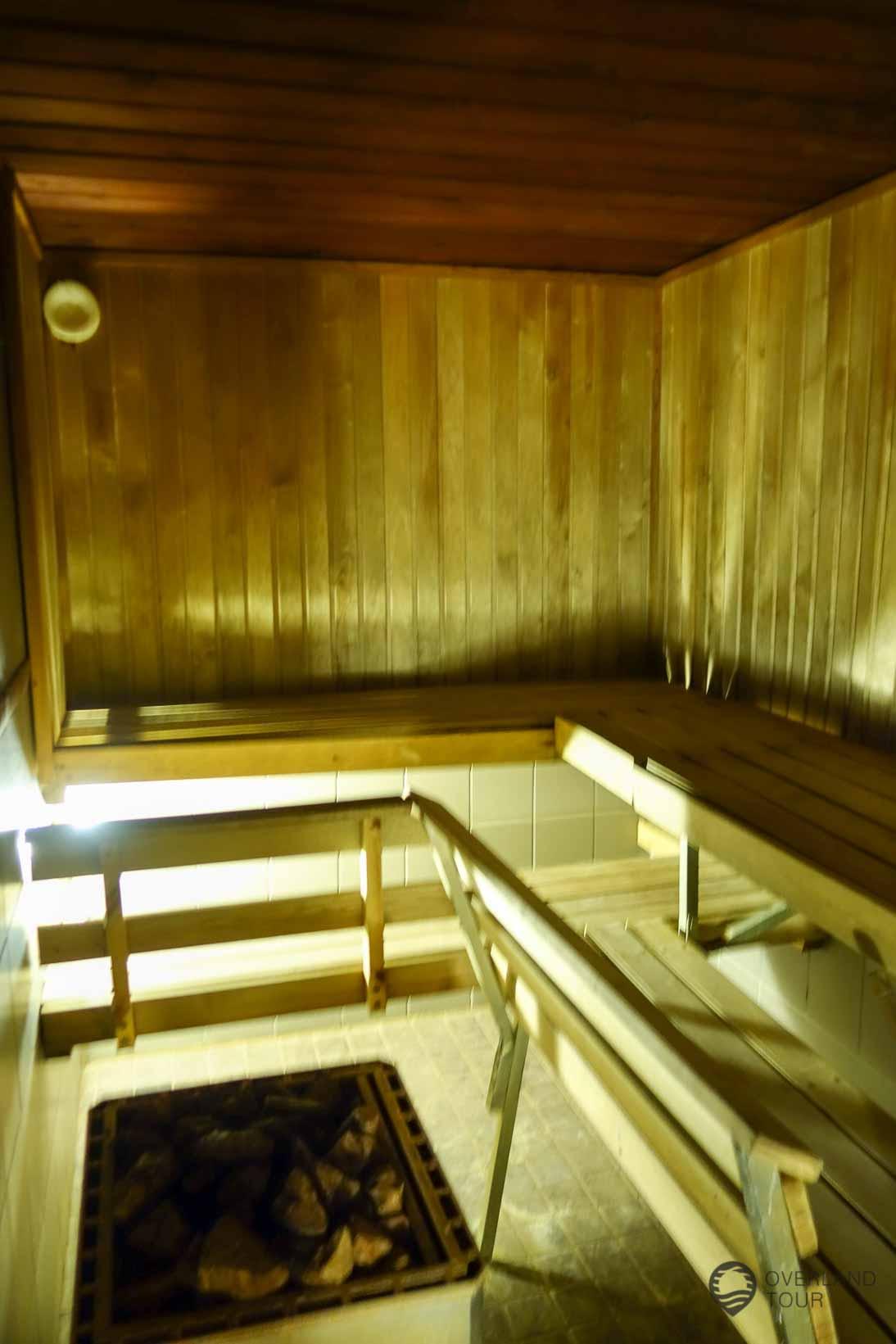 Die Sauna darf in Finnland nicht fehlen