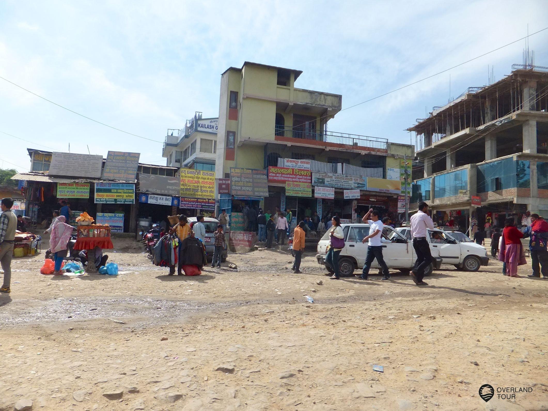 Ankunft in Kathmandu und der dritten Welt