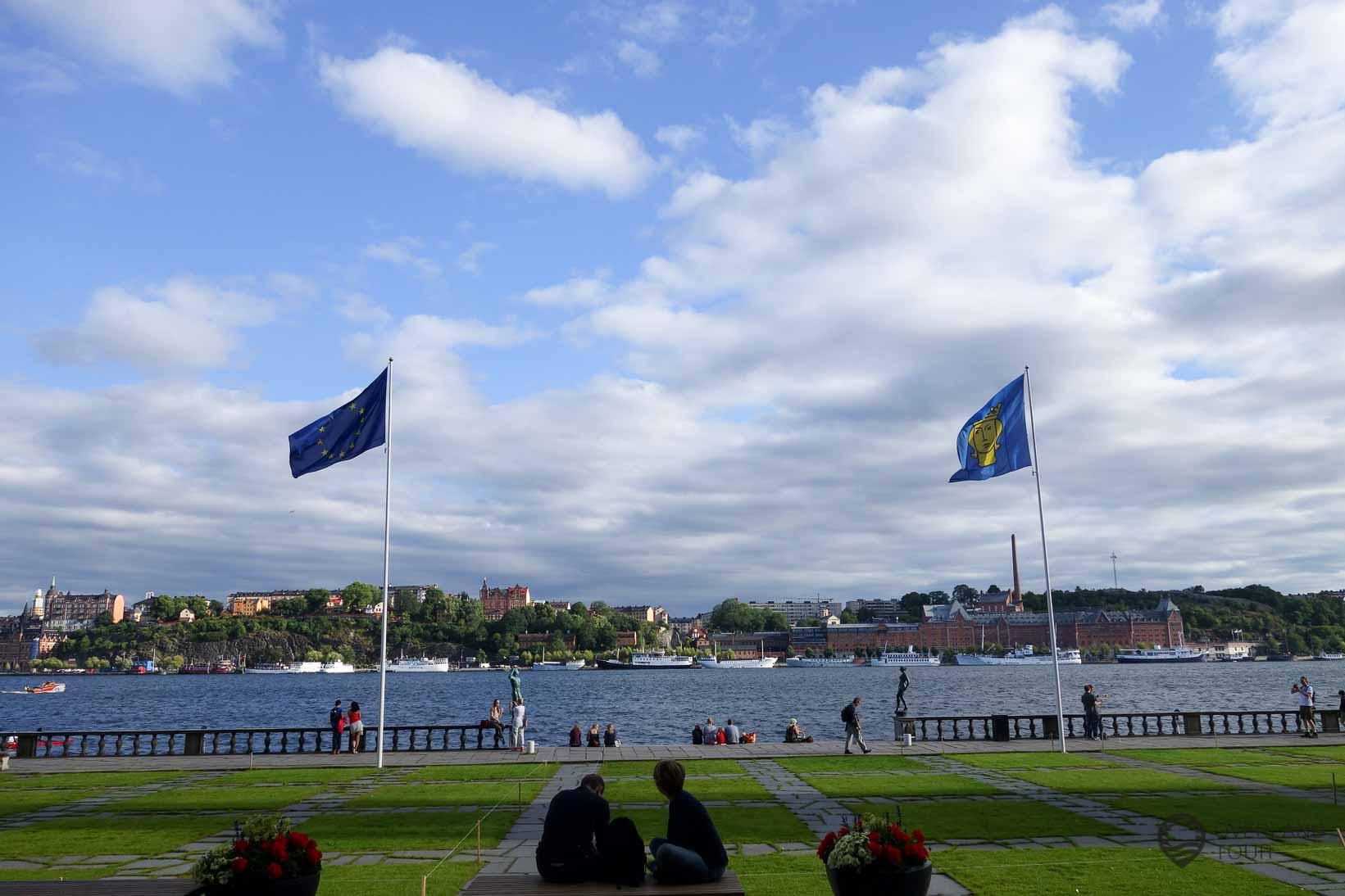 Der Stadthusparken in Stockholm