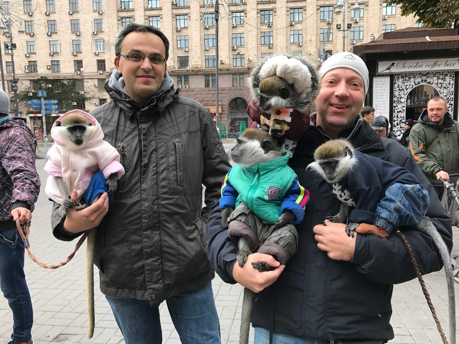 Mach dich zum Affen – Touristenfalle in Kiew