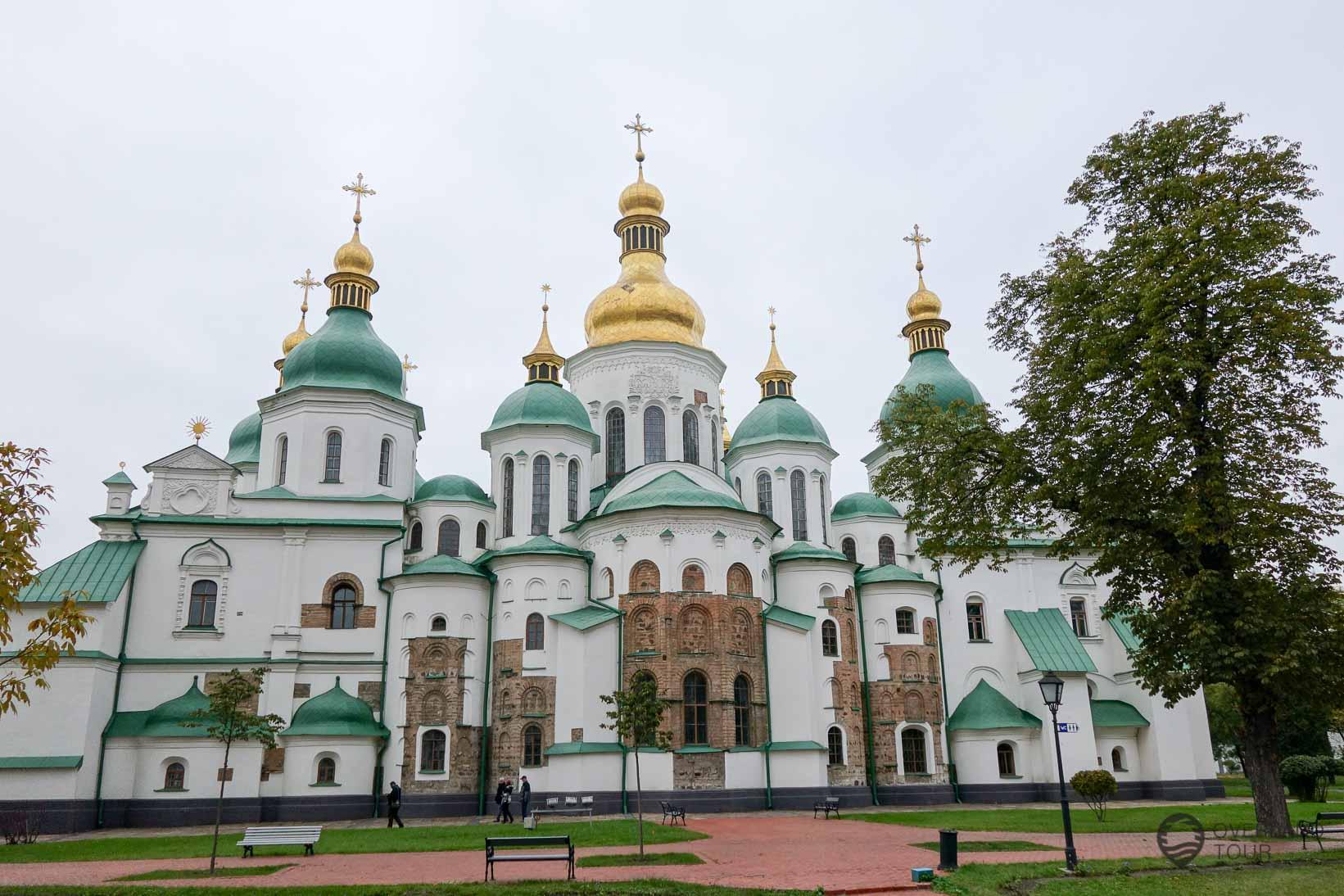 Die Sophienkathedrale Kiew