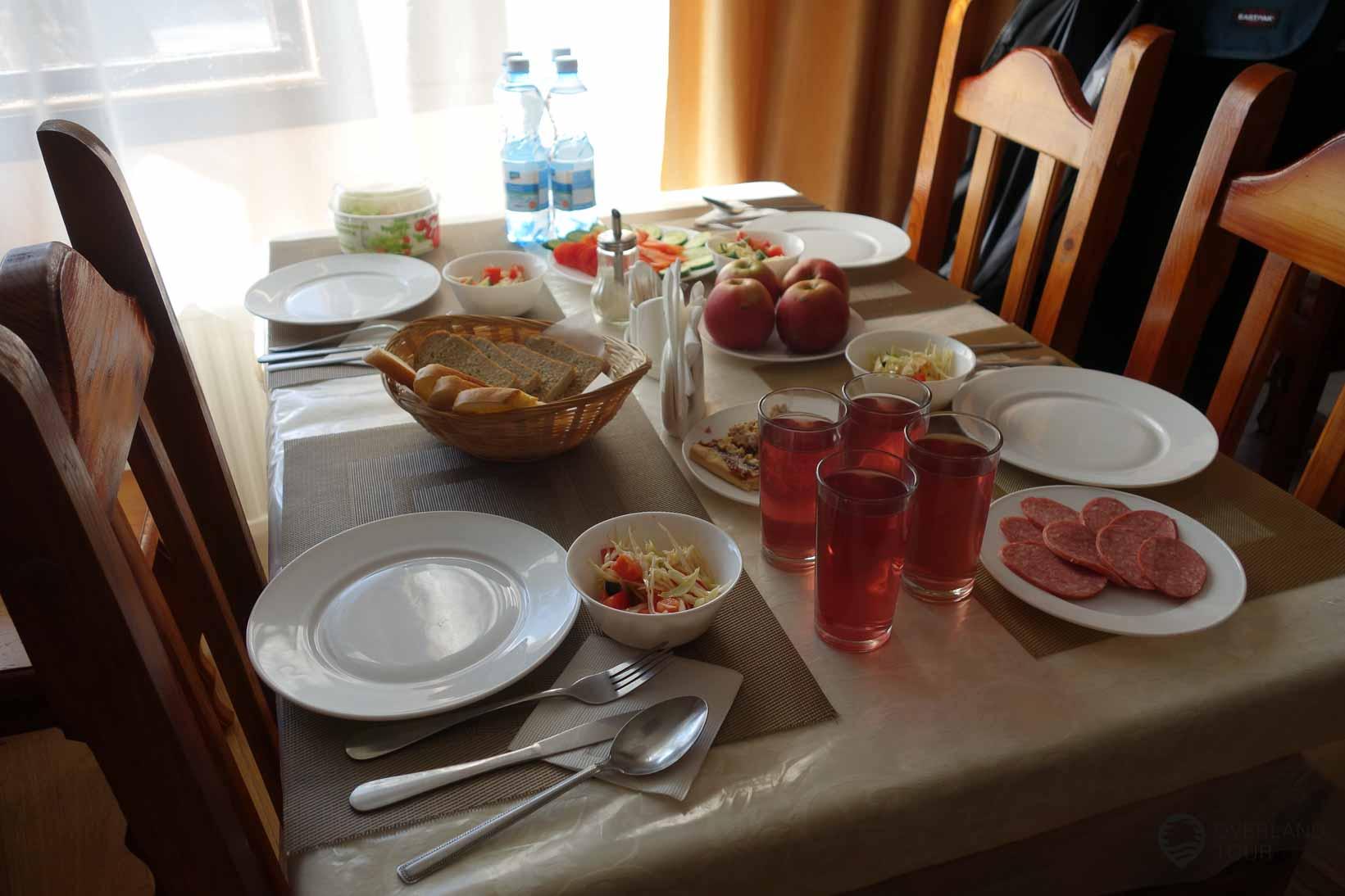 Das einizige Hotel in Tschernobyl - Hier haben wir zu Mittag gegessen