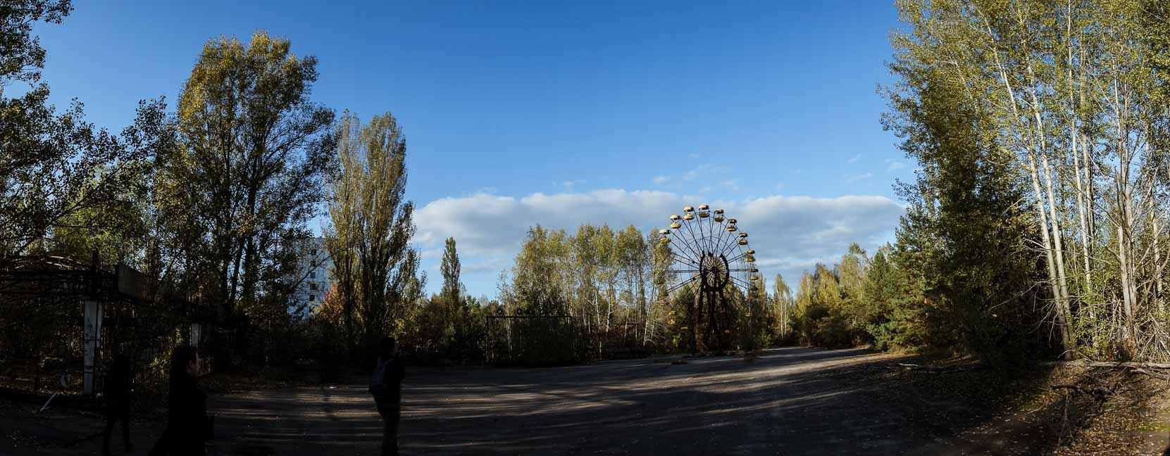 Der Vergügungspark von Prypjat sollte am 1. Mai 1986 eröffnet werden - Es kam nie dazu