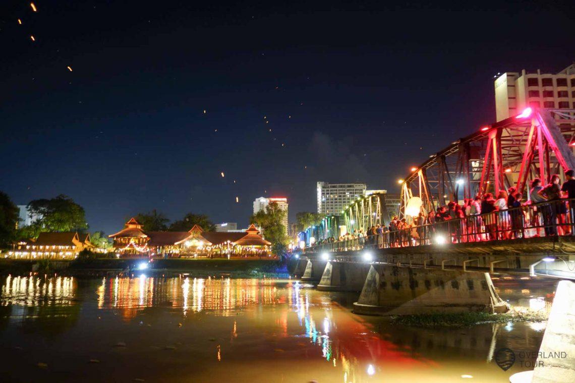 Das Lichterfest Loi Krathong in Chiang Mai