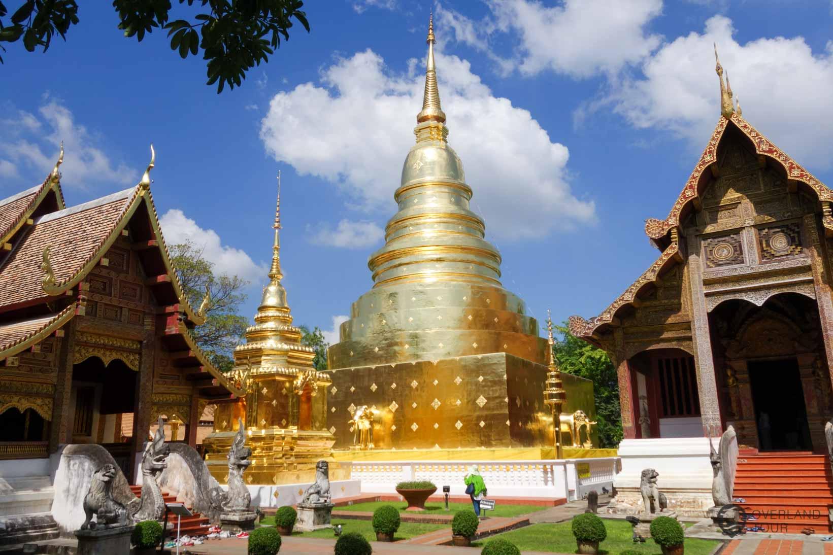 Auf nach Chiang Mai, es gibt viel zu erkunden (hier: Wat Phra Singh)