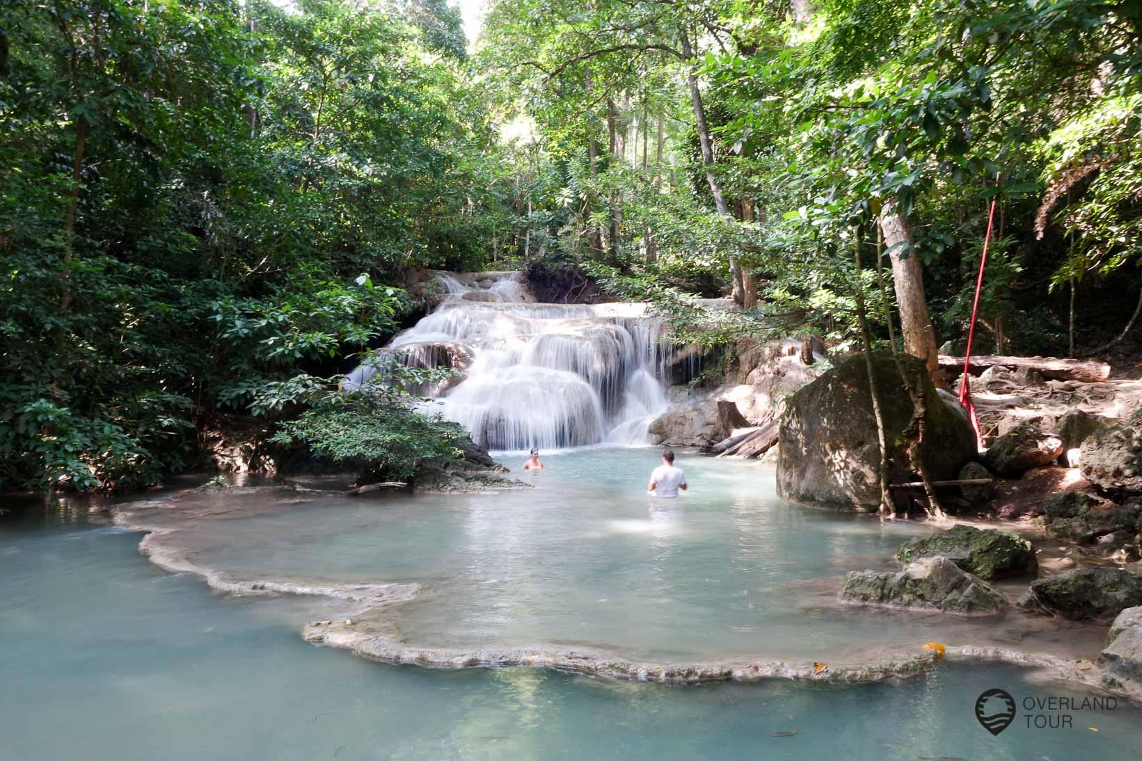 Erawan Wasserfällen - Level 1