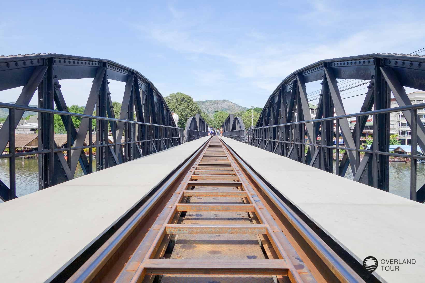 Kanchanaburi - Brücke am Kwai