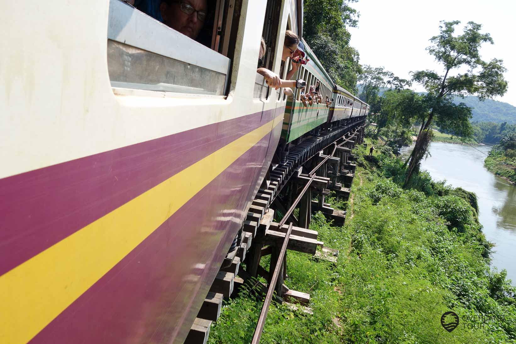 Kanchanaburi - Brücke am Kwai - Death Railway