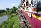Die Fahrt über die Stelzen und somit dem berühmtesten Teil der Death Railway