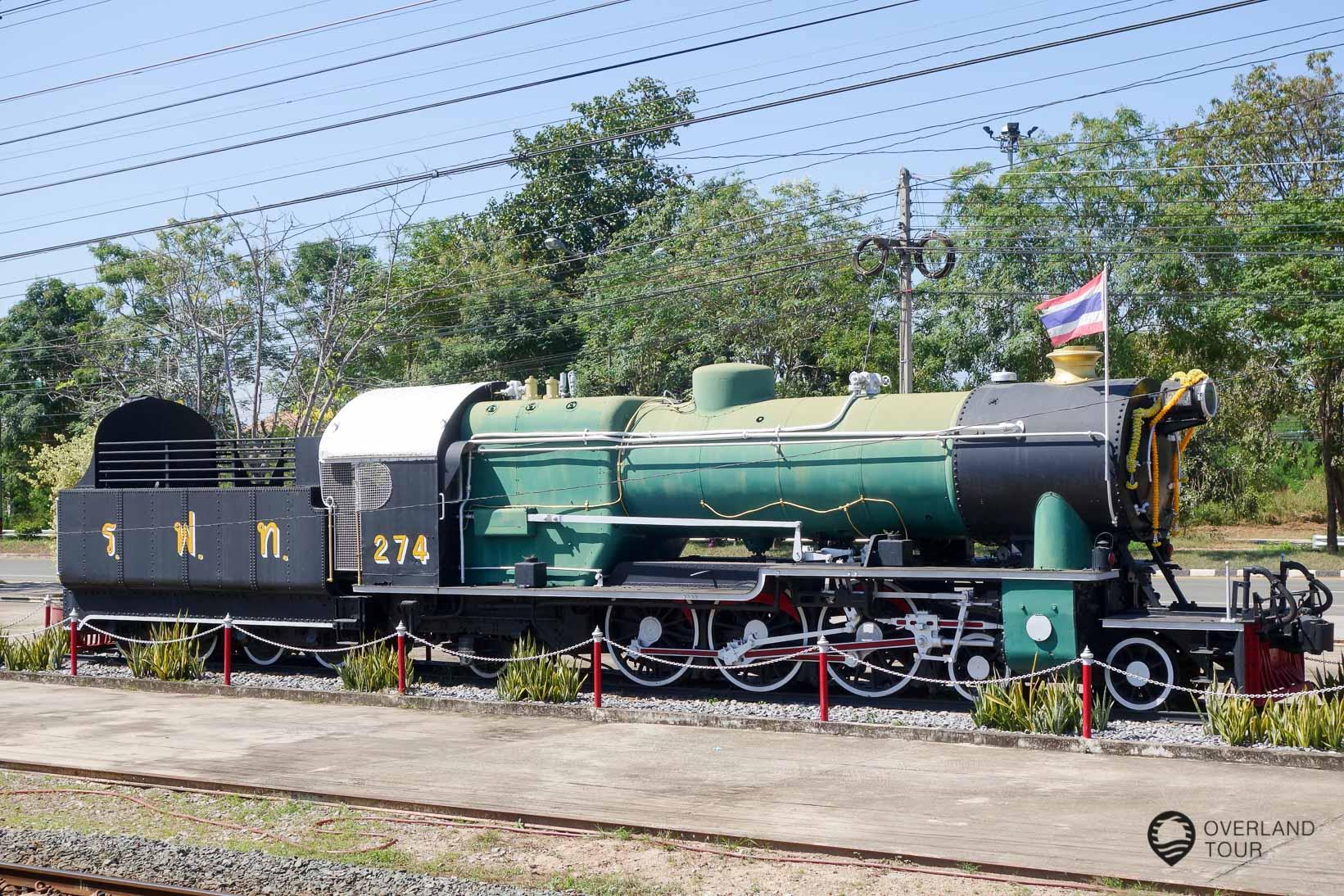 Während der Zugfahrt Chiang Mai nach Sukhothai