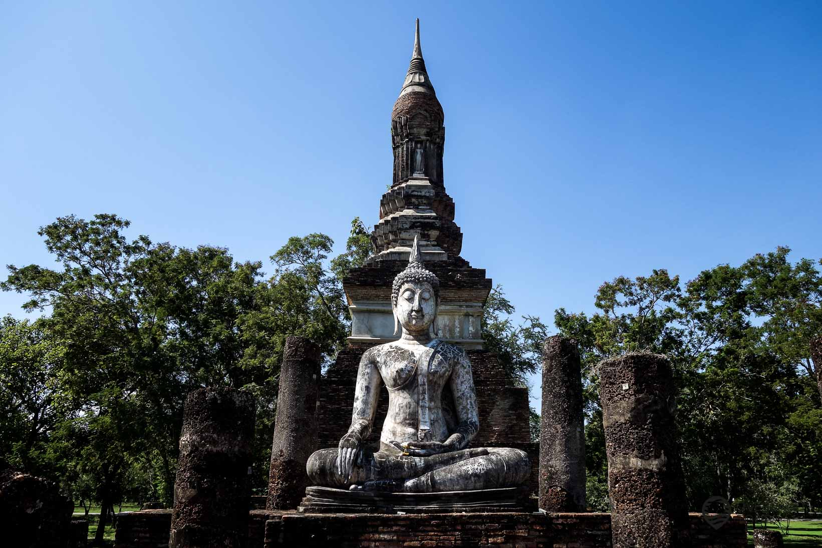 Besuch des Sukhothai Historical Park