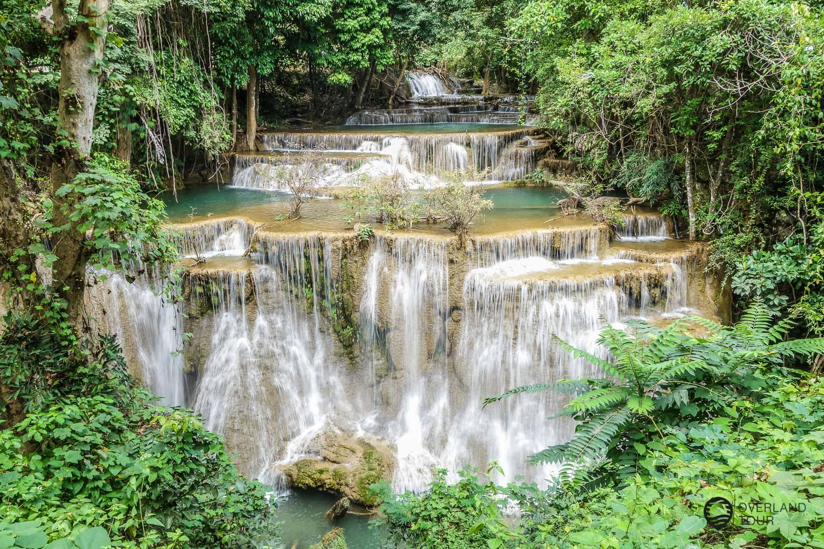Erawan Waterfalls – Ein Tagesausflug von Kanchanaburi
