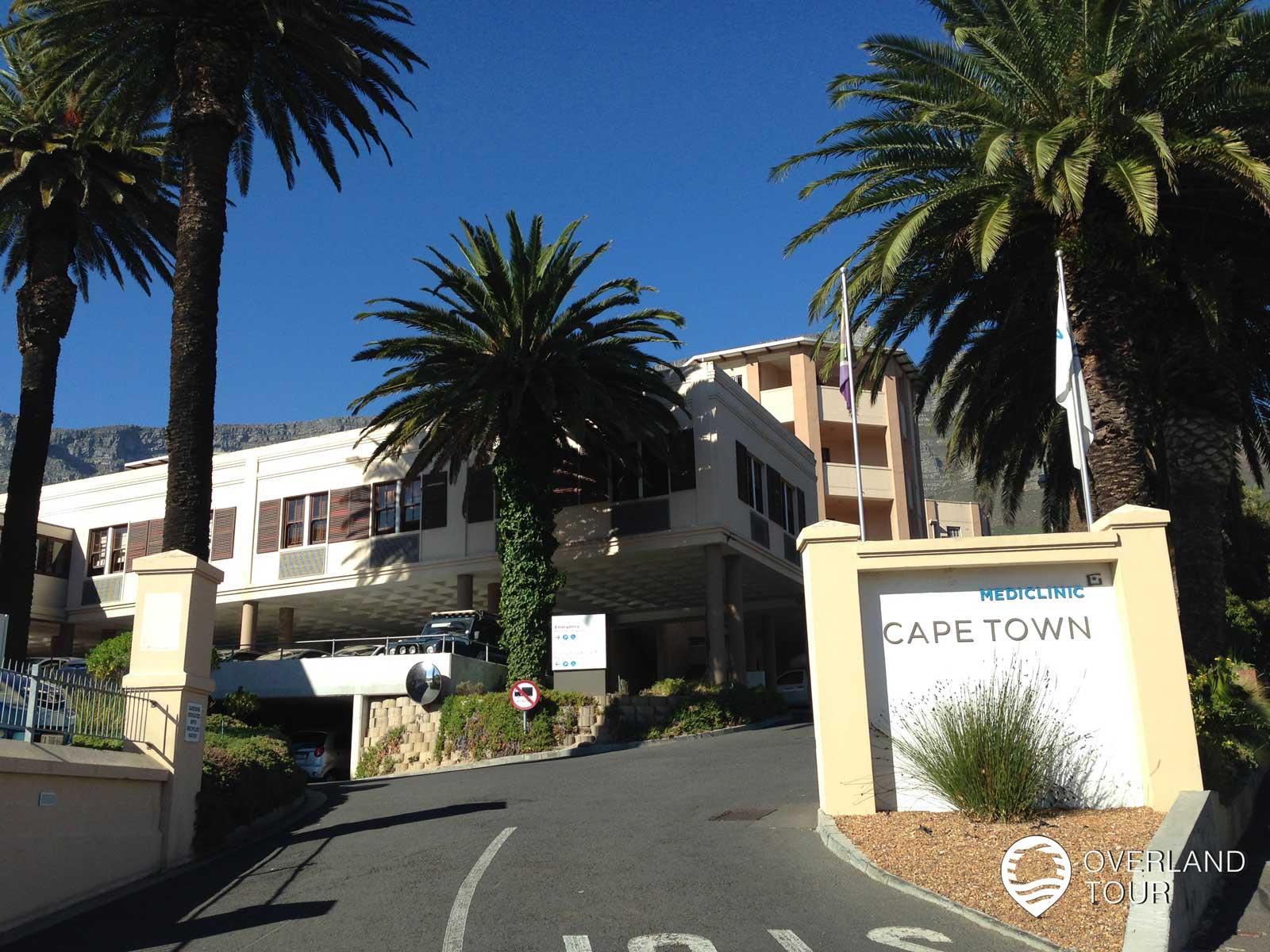 Mein Besuch im Krankenhaus - Mediclinic Cape Town - 21 Hof Street, Oranjezicht, 8001