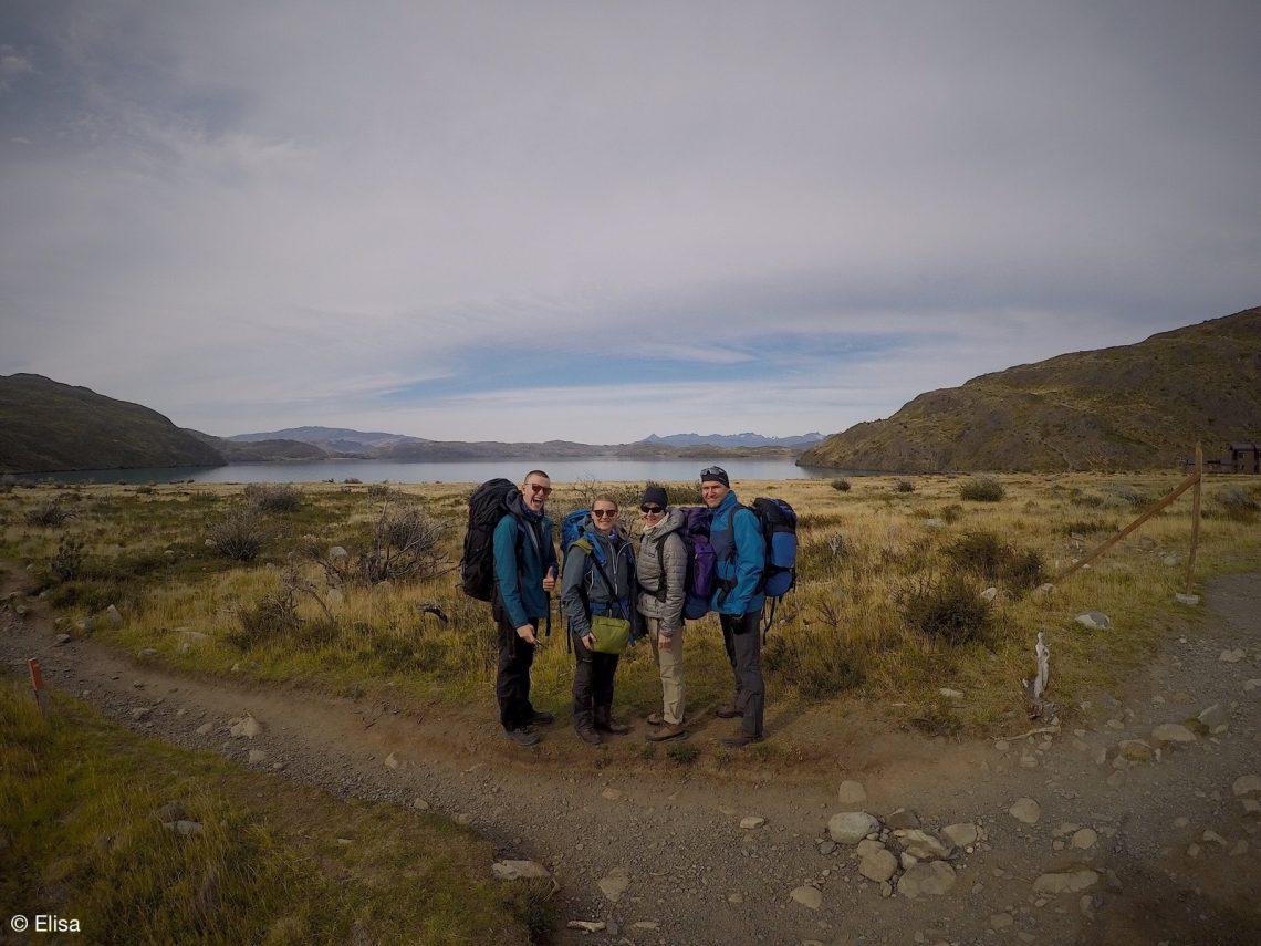 Familie Martin auf Tour im Torres del Paine Nationalpark
