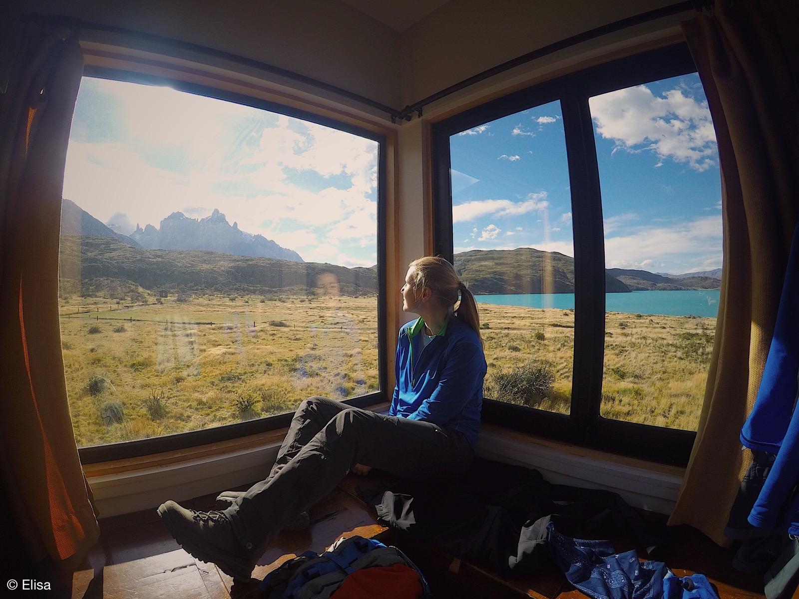 Ausruhen mit Ausblick – Torres del Paine Nationalpark
