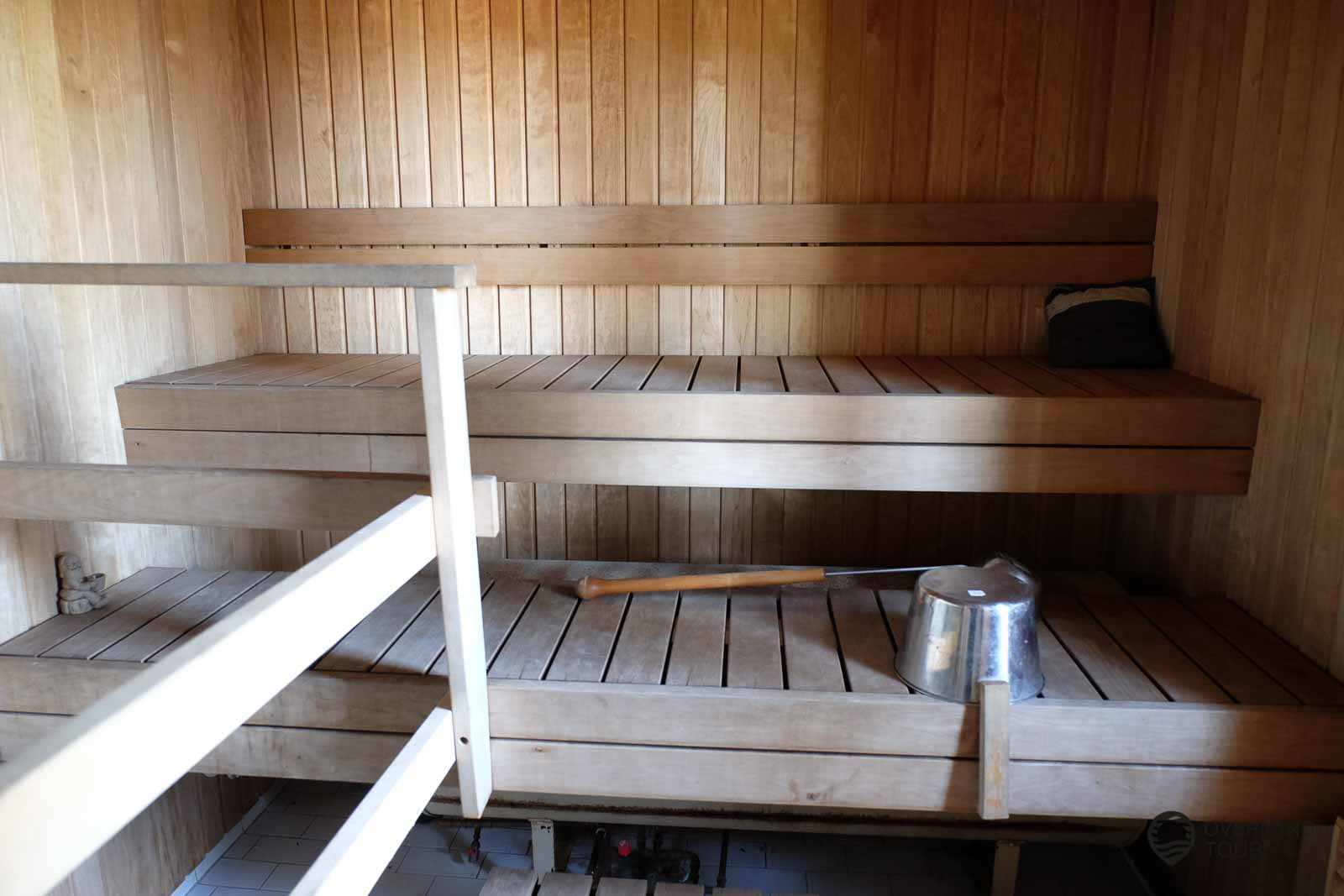 Die Sauna des B&B Kirjais Kursgård