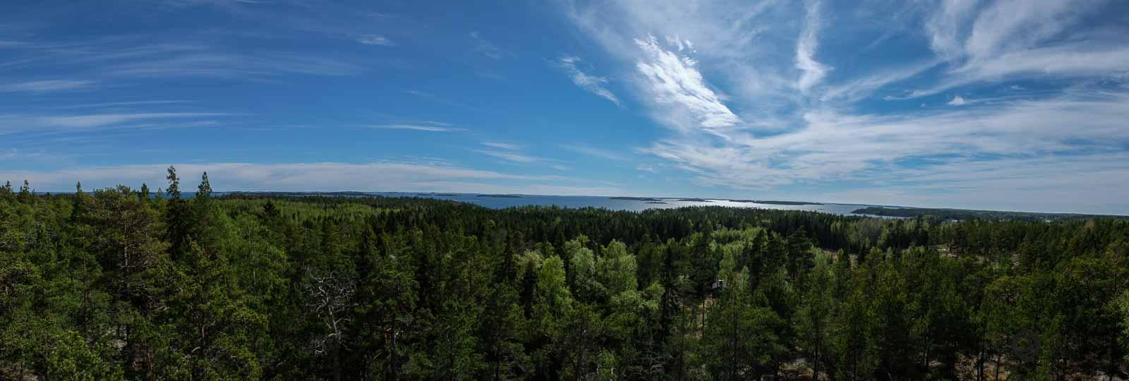 Die Insel Kirjais - Ein Blick vom wunderbaren Aussichtsturm