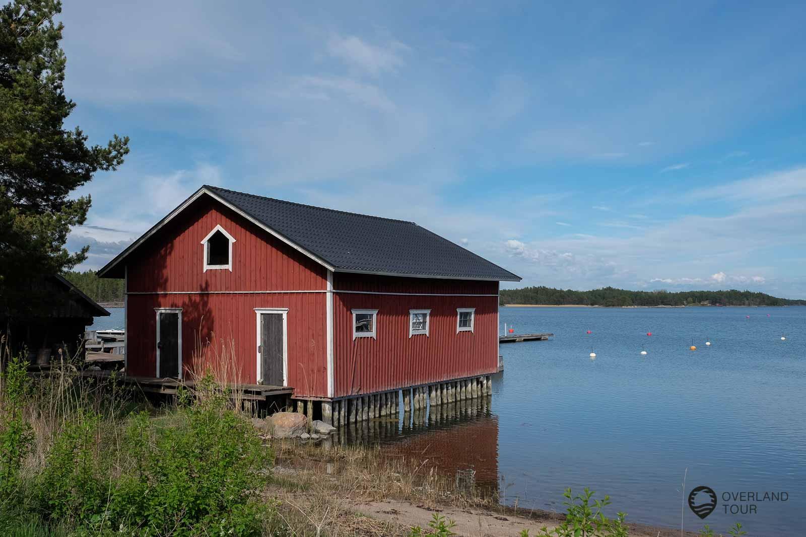 Die Insel Kirjais ist leicht zu erreichen von Turku