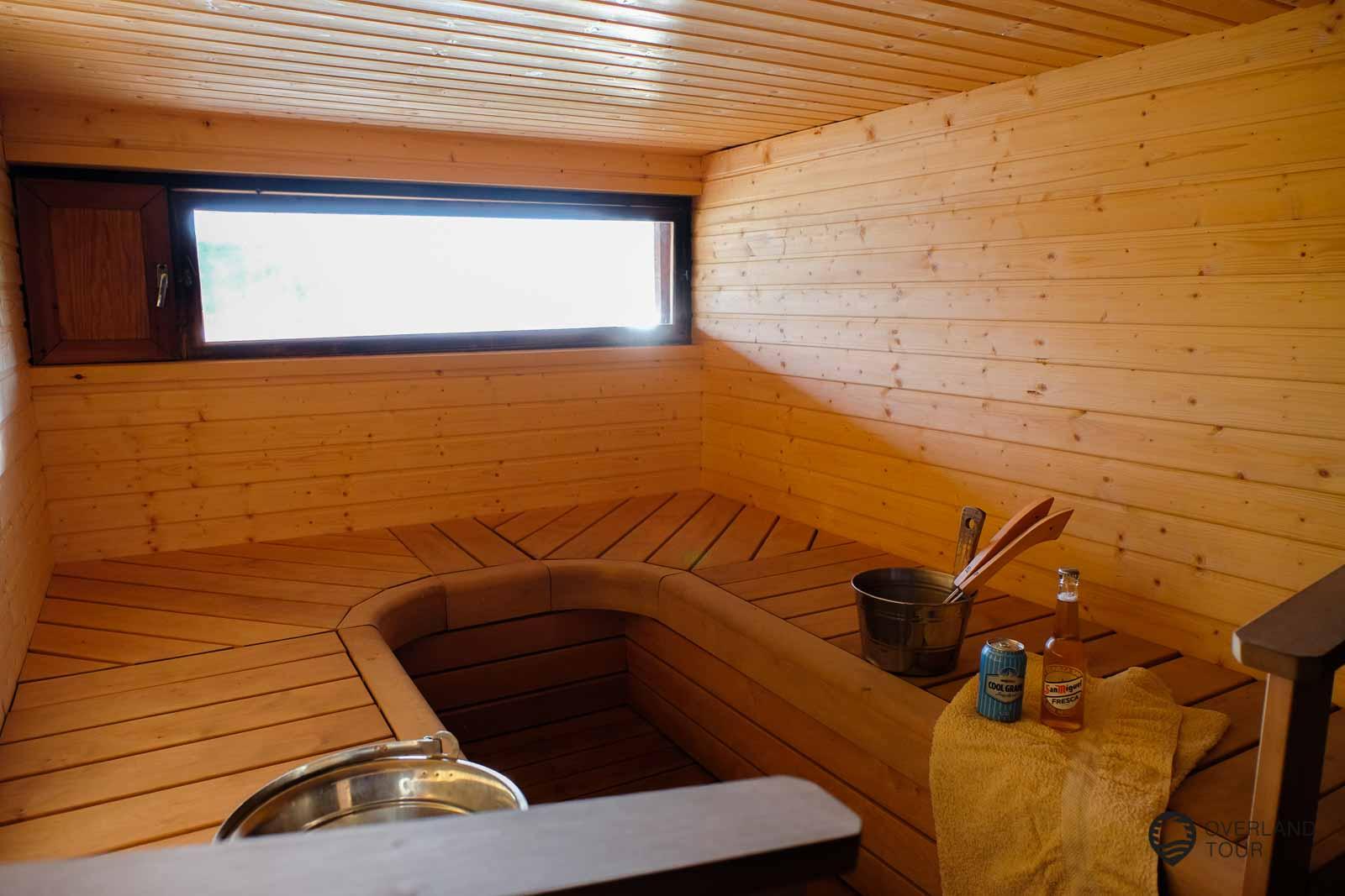 Die Sauna - Solliden Camping
