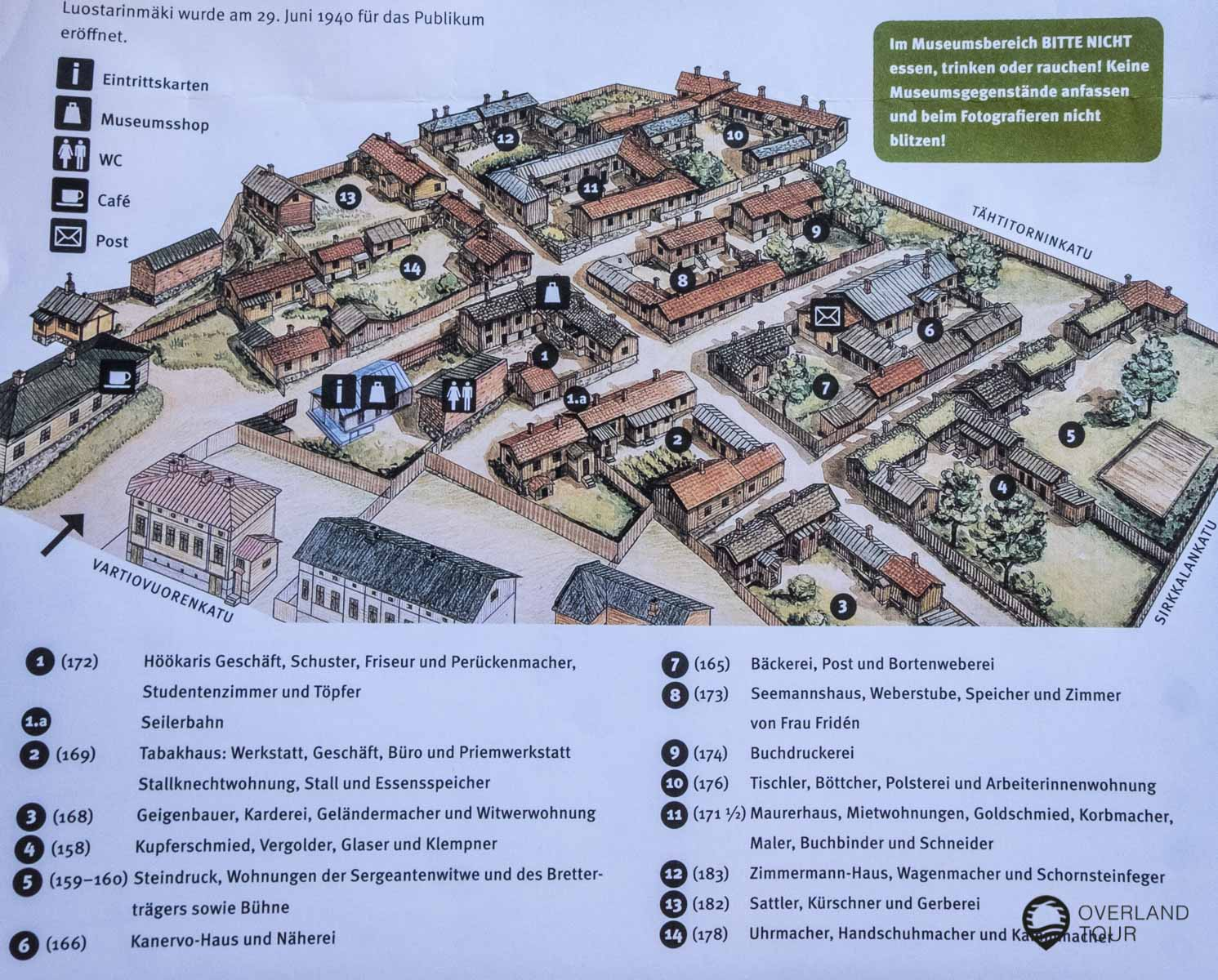 Das Freilichtmuseum Luostarinmäki