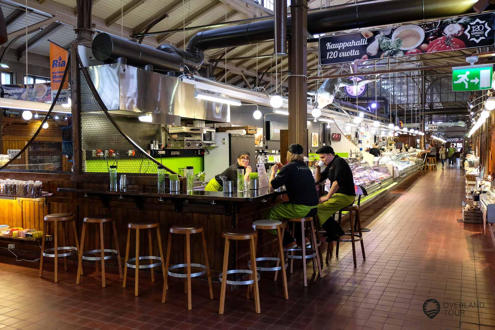 Die Markthalle in Turku – Sieht nicht nur lecker aus