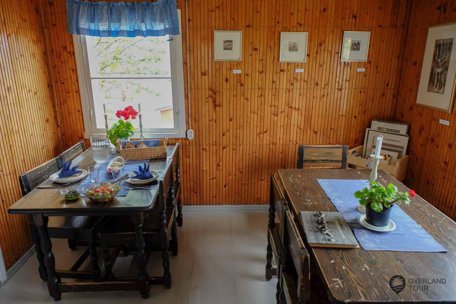 Das Café Hannas Horisont – Hier trifft man sich zum Kaffee oder zum Essen