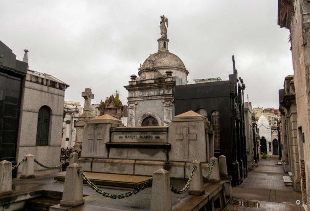 Der Friedhof in Recoleta