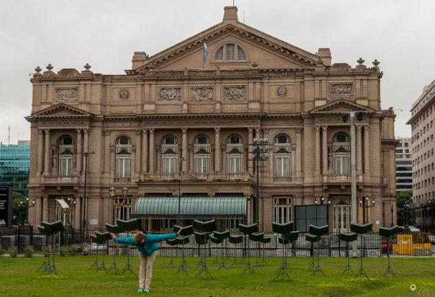 Das Opernhaus von Buenos Aires