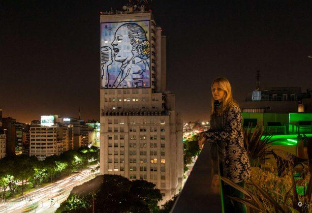 Die reklamierende Evita fordert Gerechtigkeit in Richtung der wohlhabenden Viertel