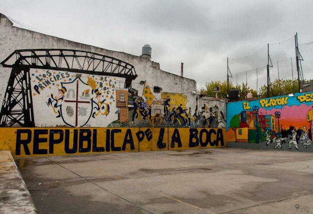 Streetart in La Boca
