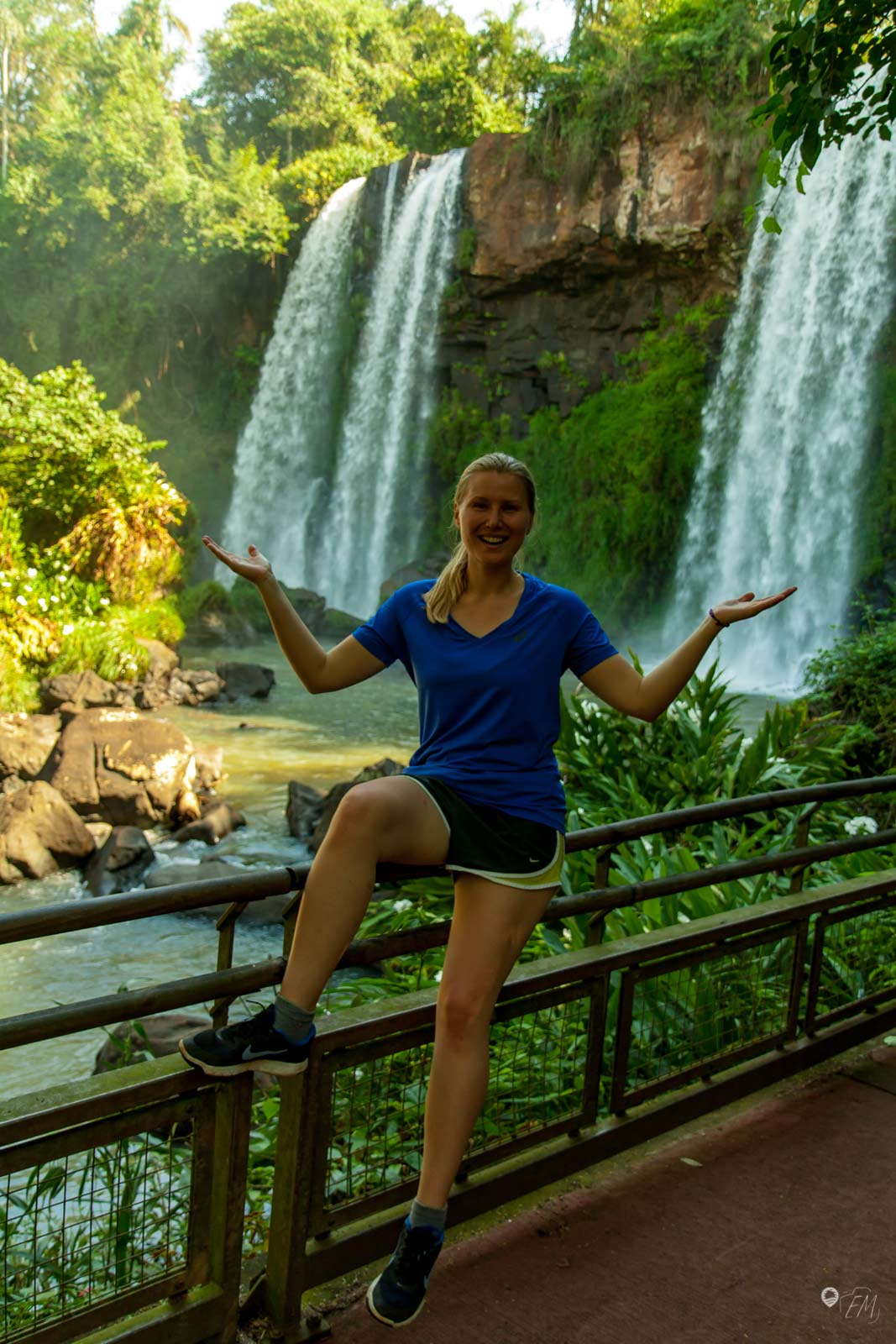 Nicht nur die größeren Wasserfälle kommen auf der argentinischen Seite zur Geltung. Auch die Kleinen haben ihren Charme!