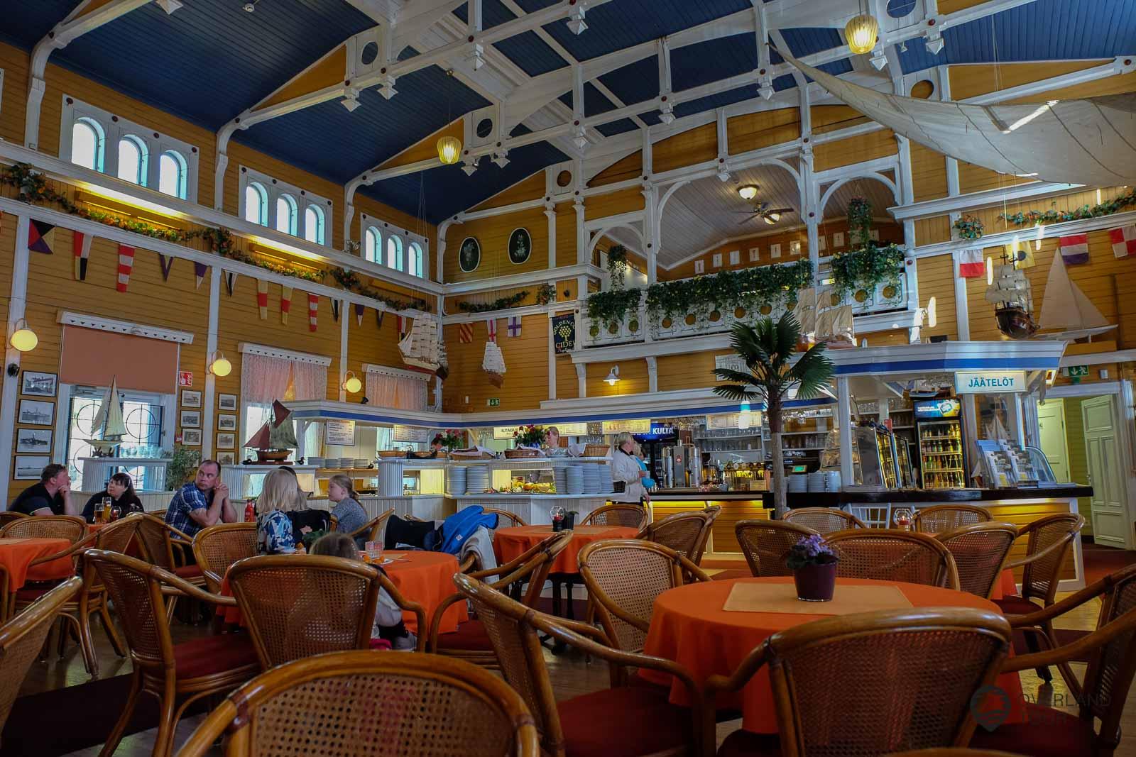 Das Restaurant Merisali - DAs macht was her das alte SPA