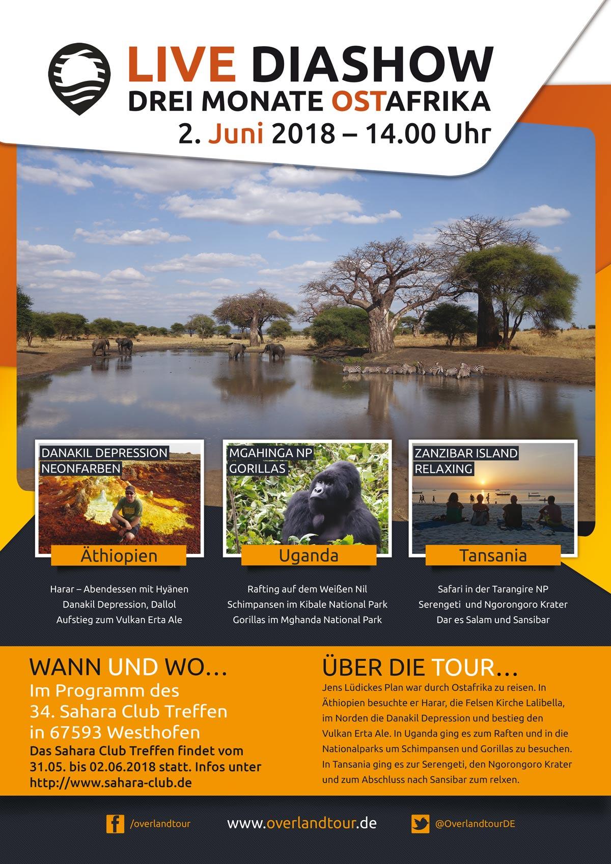 DIASHOW – 3 Monate Ostafrika [JUNI 2018]
