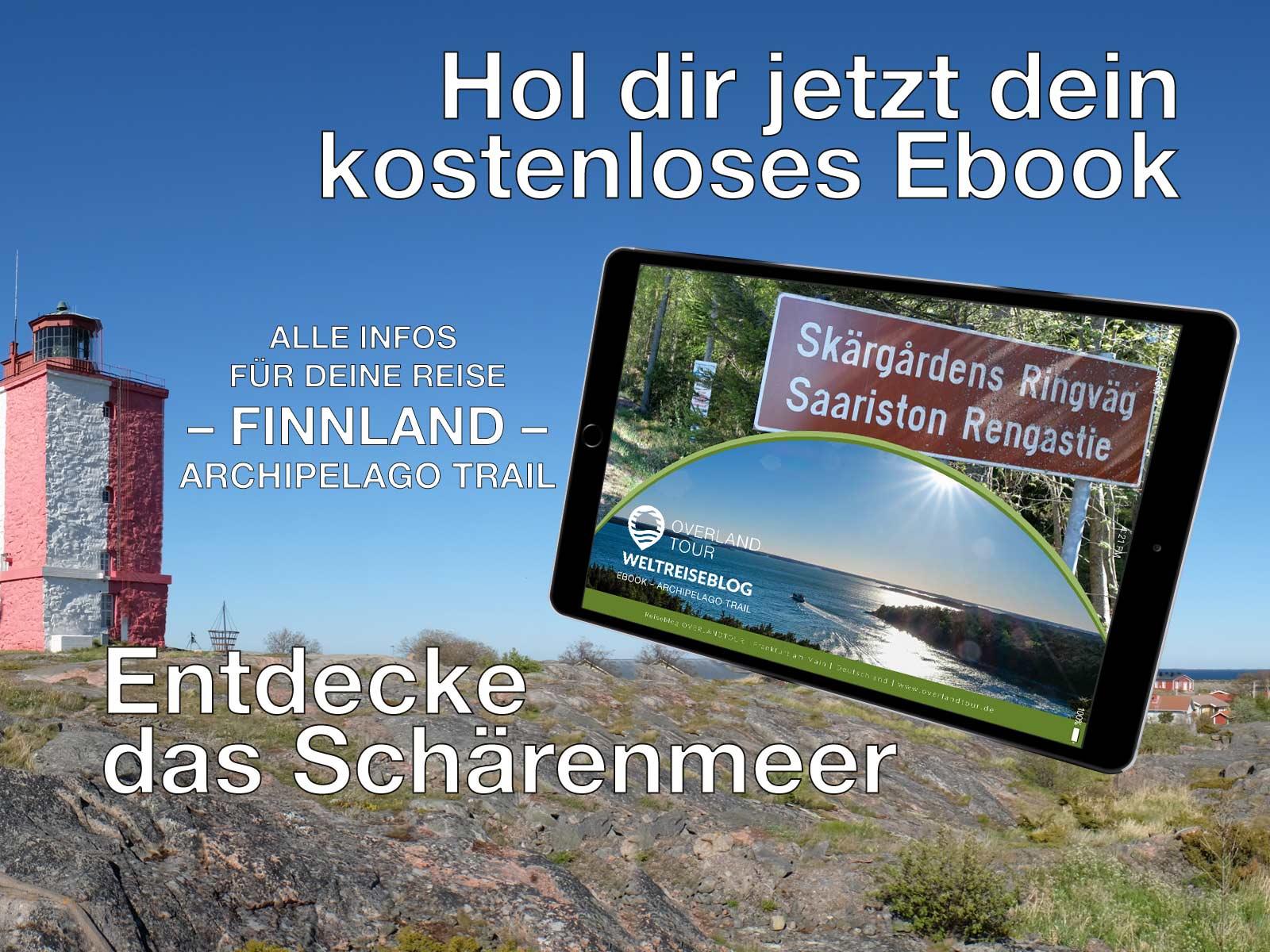 Das Schärenmeer kompakt – 12 Etappen im Überblick
