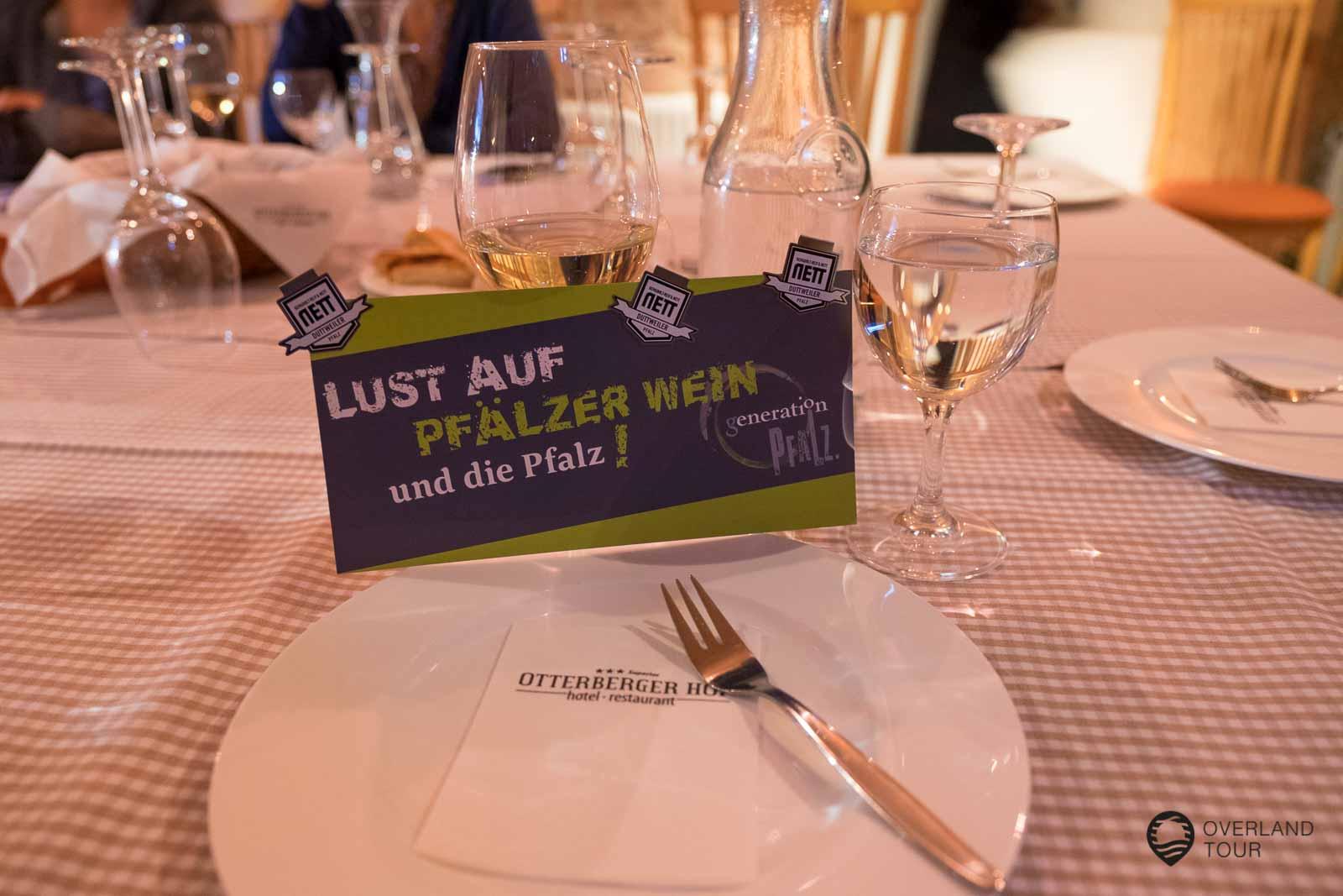 Weinprobe des Weingut Bergdolt-Reif & Nett